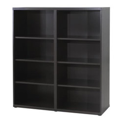 IKEA of Sweden - BESTÅ Shelf unit - Shelf unit, black-brown