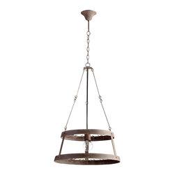 Cyan Design - Double Winey Chandelier - Double winey chandelier - rustic