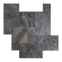 French Pattern - French pattern, Uses:  Residential and commercial with light traffic. Indoor, outdoor