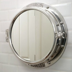 mirrors and mirror cabinets chadder co porthole mirror cabinet