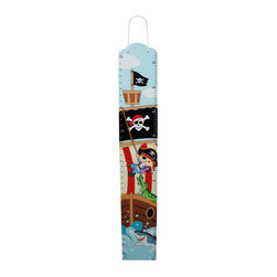 Fantasy Fields - Fantasy Fields Pirates Island Growth Chart Multicolor - TD-11608A - Shop for Growth Charts from Hayneedle.com! Chart a course for fun with the Fantasy Fields Pirates Island Growth Chart. This pirate-themed growth chart is hand-carved of solid wood and engineered MDF to last through the years as kids grow to the top of the mast. With both inches and centimeters you can track growth and measure objects in any of the seven seas and either side of the equator.About Teamson DesignBased in Edgewood N.Y. Teamson Design Corporation is a wholesale gift and furniture company that specializes in handmade and hand-painted kid-themed furniture collections and occasional home accents. In business since 1997 Teamson continues to inspire homes with creative and colorful furniture.