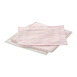 Laurent Doll - Laurent Doll Pink Stripe Linen Set for Doll Canopy Bed - LDCB-PNK-01 - Shop for Dollhouses and Dollhouse Furnishings from Hayneedle.com! Ensure that your baby girl's favorite baby gets a good night's sleep with the Laurent Doll Pink Stripe Linen Set for Doll Canopy Bed. Beautifully crafted from 100% cotton this set features a simple yet elegant pink stripe print on the top and a solid white back. A 100% cotton pillow case comforter and mattress cover are also included.About Laurent DollLaurent Doll was started in 2009 by Kathy Cahill and her son Scott and founded on the principal of creating high quality design and manufacturing to fit a wide range of 18-inch dolls. Crafted from quality hardwoods Laurent Doll offers an exceptional collection of doll furniture linens and accessories.