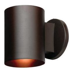 Joshua Marshal - One Light Bronze� Outdoor Wall Light - One Light Bronze� Outdoor Wall Light