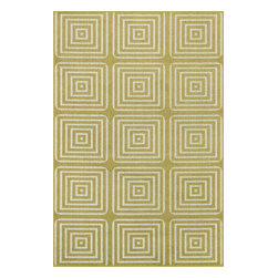 Loloi Rugs - Loloi Rugs Oasis Citron-Ivory Contemporary Indoor / Outdoor Rug X-9AA7VICX10-SOI - Boldly designed and brightly colored, our Oasis Collection transforms any outdoor space into a modern patio paradise.This collection is power loomed in Egypt, ensuring precision in color and design for each and every piece. And because the 100% polypropylene yarns are specially tested to withstand UV rays and rain, it's the perfect all-weather rug.