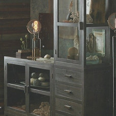 Eclectic Storage Cabinets by Heaven's Gate Home and Garden, LLC