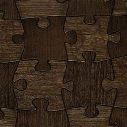 Jigsaw Pattern - This familiar pattern brings back images of rainy days spent putting together a jigsaw puzzle. When all the complex interrelating pieces fit together, it reveals a beautiful picture. The Jigsaw pattern does just that for your floors.