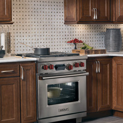 """Wolf 30"""" Pro-style Dual-fuel Range, Classic Stainless 