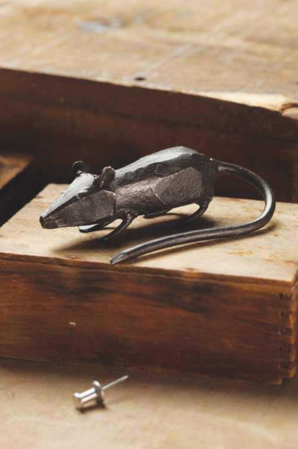 eclectic accessories and decor Iron Mouse