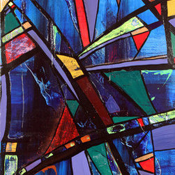 Soma (Original) by Paul Harrington - This painting was inspired by seeing so many cathedrals and churches during my travels through Europe.