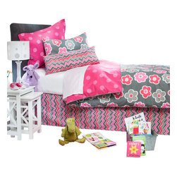 Glenna Jean - Addison Children's Duvet Twin - The Addison Children's Duvet by Sweet Potato will look great in any child's room.