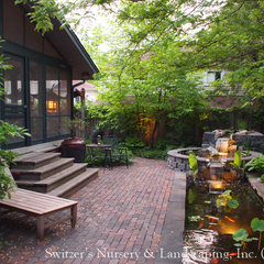 asian landscape by Switzer's Nursery &amp; Landscaping, Inc.
