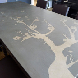 Concrete Furniture - concretepete llc
