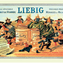 Buyenlarge - Meat Extract Advertisement - Liebig 12x18 Giclee on canvas - Series: Steinlein