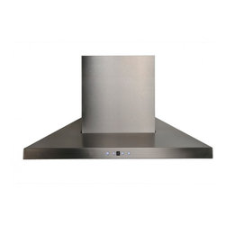 "Cavaliere Euro AP238-PSL Wall Mount Range Hood - This stainless steel wall mount range hood is available in 30"" 36"", and 42"" at RangeHoodsInc.com with prices starting at $509.95. Shipping is always Free. You can save an additional 10% using code RHIHZ10  at checkout."