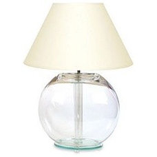 Quality Furniture by Gregory & Porritts - Glass Lamps - Goldfish Bowl Lamp Base