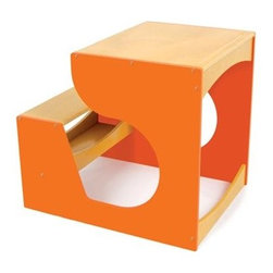 Children's Desk in Orange - Specially designed for little ones with big ideas, the P'kolino Children's Desk is a child favorite. With it's ample working space for paper, books, and puzzles, it is ideal for project based learning or the budding artist.
