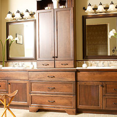 traditional bathroom vanities and sink consoles by Attleboro Kitchen and Bath