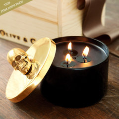 eclectic candles and candle holders by Olive & Cocoa