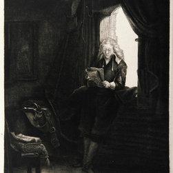 Rembrandt van Rijn, Portrait du Bourgmestre Jan Six (B285), Heliogravure - Artist:  Rembrandt van Rijn, After by Amand Durand, Dutch (1606 - 1669)