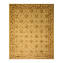 EORC - English Garden Trellis Rug (9'2 x 12'3) - Primary materials: Polypropylene  Pile height: 0.25 inches  Style: Transitional