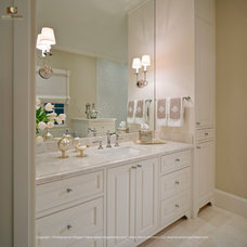 Traditional Powder Room by Kevin L Harris, Architect LLC