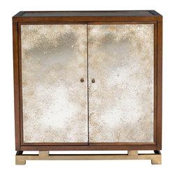 Vanguard Furniture - Vanguard Furniture Wilshire Bar Cabinet P410H-NRAT - Vanguard Furniture Wilshire Bar Cabinet P410H-NRAT