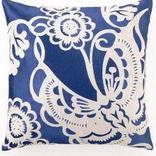 Contemporary Pillows by The Classy Cottage
