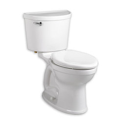 American Standard - American Standard Champion Pro Right Height Elongated 1.28 GPF Toilet, White - American Standard 211A.A104.020 Champion PRO Right Height Elongated 1.28 gpf Toilet, White