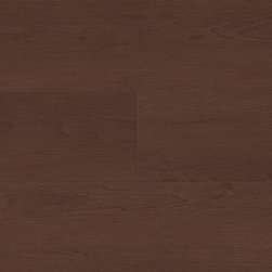 """Access LL Collection: Brunswick Cherry - 6"""" x 48"""" Luxury Vinyl Flooring – Gauge: 5mm – 20mm wear layer – 50% recycled content – 20 year residential warranty."""