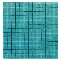 Turquoise Vitreous Mosaic Tile - SOLD BY BOX