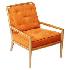 modern armchairs by Dennis Miller Associates