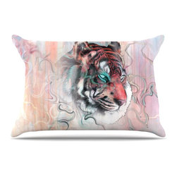 """Kess InHouse - Mat Miller """"Illusive by Nature"""" Pillow Case, King (36"""" x 20"""") - This pillowcase, is just as bunny soft as the Kess InHouse duvet. It's made of microfiber velvety fleece. This machine washable fleece pillow case is the perfect accent to any duvet. Be your Bed's Curator."""