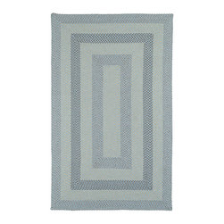 Kaleen - Kaleen Bimini Collection 3010-17 5'X8' Blue - Bimini is a very special textured woven product designed to bring out the subtle blend of modern colorations.  Made in China from the finest 100% Polypropylene yarn and is suitable for indoor or outdoor use.