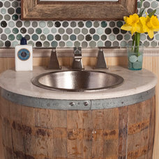 Industrial Vanity Tops And Side Splashes by DirectSinks