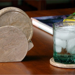 Marble Products International - Coral Fossil Coaster Set - CFC101 - Shop for Coasters from Hayneedle.com! Place your favorite beverages on the classic Coral Fossil Coaster Set. Crafted of 100% natural marble this set will bring a unique look to your home. All six coasters are made of coral fossil and will have natural veining which adds to the beauty of the set.About R&S Designs Established in 1989 R&S Designs has been offering quality products hand-crafted from stones formed millions of years ago -- dating back to the pre-Jurassic period. Using natural stones for their products adds a unique distinction that outshines products made of synthetic materials. Their skilled artisans have mastered the art of marble carving so each piece has it's own distinct character that is not only creative but cannot be duplicated. R&S has been supplying numerous retail operations throughout the United States and now they bring their masterpieces directly to families who want to create lasting impressions with quality products.