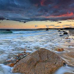 Sunset Seascape Photo Print -
