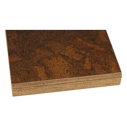 Forna - FORNA Cork Flooring Tiles, Sunny Ripple (21.31 sf pkg.) - FORNA 4mm, Glue-down Cork Flooring Tiles, Sunny Ripple (21.31 sf per package) for Bathroom, Kitchen, any room.  A glue down floor can only be installed on ABOVE GRADE  no basements ) !!!