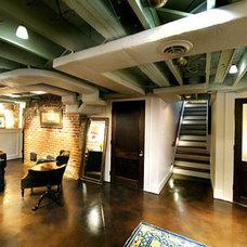loft-style basement