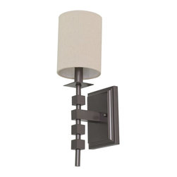 House Of Troy - House of Troy Lake Shore Wall Sconce Mahogany Bronze - House of Troy Lake Shore Wall Sconce Mahogany Bronze X-BM-402SL
