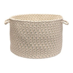 Colonial Mills EM69A018X018 Elmwood Utility Basket - Tarragon - About Colonial MillsThe resurgent popularity of braided texture comes as no surprise to Colonial Mills, Inc. (CMI). For the past several years, CMI has developed new colors and styles that will capture the home decorating imagination of just about anyone. CMI considers a braid as a method of construction, not a style. Braided construction adds a distinctive look and premium durability to rug styles ranging from contemporary to traditional. Creating exceptional rugs and providing superior customer service is a team effort at CMI, proudly recognized as a trusted supplier to the best-known retailers in the United States today.