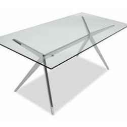 Calligaris - Calligaris | Quick Ship: Seven Glass Table - Design by S.T.C.