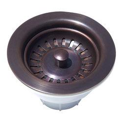 "Artesano Copper Sinks - Solid Copper - 3.5"" Basket Strainer Copper Sink Drain - Solid Copper - 3.5"" Basket Strainer Copper Sink Drain"