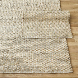 Ballard Designs - Braided Link Jute Rug - Swatches available. Sizes are approximate. Imported. This natural fiber rug features hand braided links of jute and cotton for a sophisticated balance of natural texture and geometric style. It's also fully reversible, so you can flip it before cleaning. Use of a Rug Pad, sold online, is recommended. Braided Link Jute Rug features:. . .