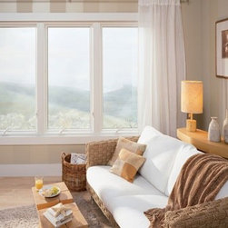 Casement Windows - These casement replacement windows from Renewal by Andersen were a nice addition to a gorgeous master bedroom.