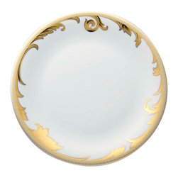Versace - Versace Arabesque Gold Dinner Plate - Versace Arabesque Gold Dinner Plate