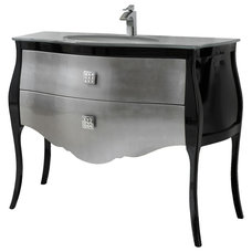 Eclectic Bathroom Vanities And Sink Consoles by Macral Design Corp