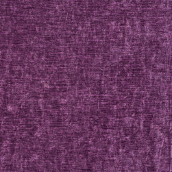 Purple Solid Woven Velvet Upholstery Fabric By The Yard - This velvet is truly unique in the way that it shines. In addition, it is very durable and comfortable too! This material is great for residential, commercial and hospitality upholstery.