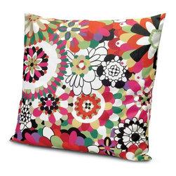 Missoni Home - Omaha Vivid Pillow 32x32   Missoni Home - Design by Rosita Missoni.