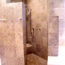 Mediterranean Bathroom by Design Detail