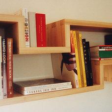 Modern Display And Wall Shelves  by Carpenter & Carpenter Ltd
